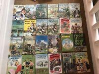 24 Vintage ladybird books