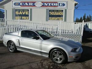 2013 Ford Mustang V6 PREMIUM COUPE!! 6 SPD STANDARD!! 17 ALLOYS!