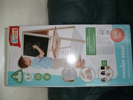 EARLY LEARNING BLACKBOARD AND EASEL