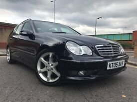 MERCEDES C220 SPORTS WITH LEATHER SEATS FULL SERVICE HISTORY