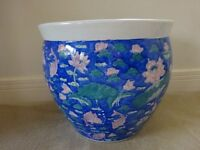 EXTRA LARGE CHINESE PLANT POT 14 INCHES X 16 INCHES