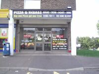 FISH & CHIPS / KEBABS/ PIZZA SHOP