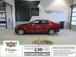 2015 Cadillac ATS SEDAN AWD 2.99% TURBO LUXURY