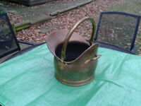 Brass Coal Scuttle FREE LOCAL DELIVERY
