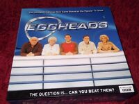 Eggheads - Ultimate Challenge Quiz Game - As New.