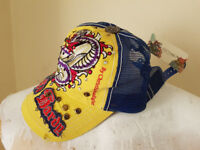 Ed Hardy Limited Edition Yellow Dragon Cap - Brand New - One Size