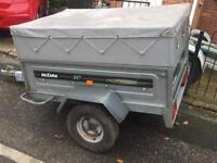 Larger daxara 147 tipping trailer + lift of Box/cover