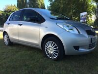 Toyota Yaris 999cc 5dr 1Lady Owner Full Service History 1Year MOT Hpi Clear P/X Welcome