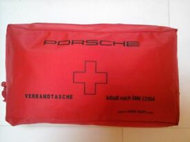 PORSCHE First Aid Kit. Fits all models. New and unused.
