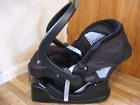 Chicco baby car seat, rear facing