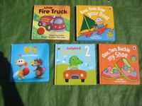5 Hardback Books in Colour to Entertain and Teach Your Young Child for £4.00
