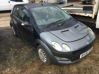 Smart car' forfour pulse 1.5 cdi 2006 06 reg 100k spares or repairs