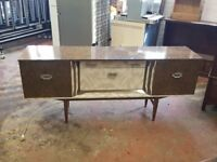 1960s formica sideboard
