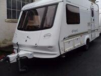 Compass Concerto Two Berth Touring Caravan