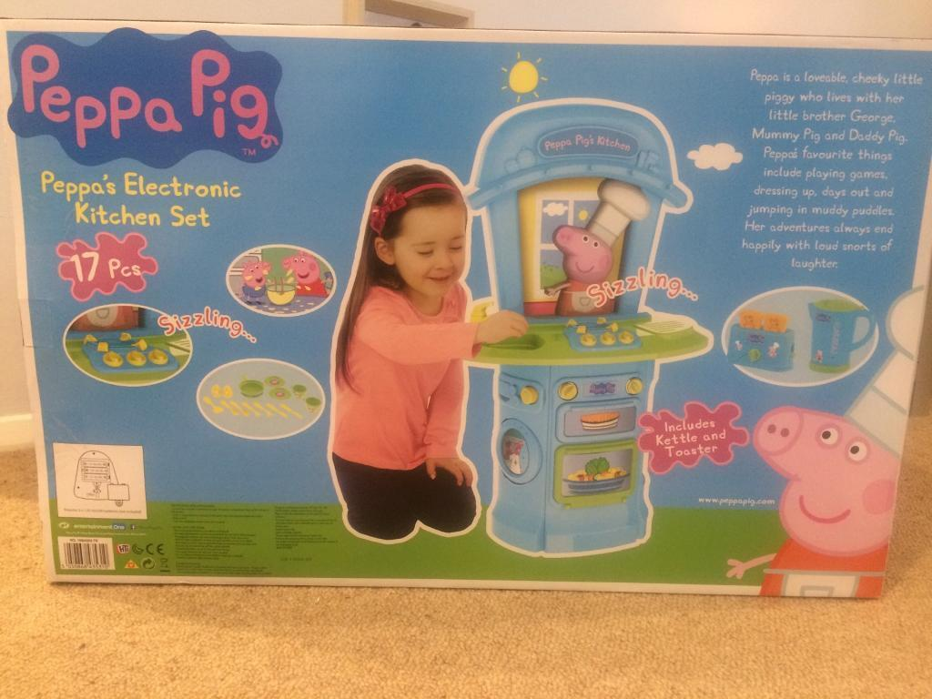 Peppa Pig Electronic Kitchen Set In Wimborne Dorset Gumtree