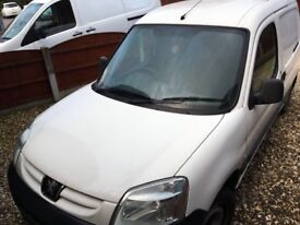 Peugeot partner lx hdi side loader spares or repair
