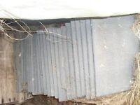 Redland 90 stonewold roof tiles slate grey