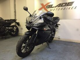Yamaha YZF R125 Sports Motorcycle, ABS, Low Miles, Good Condition, ** Finance Available **