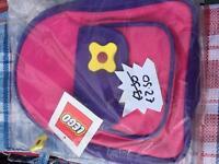 New logo backpacks