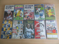 Ten Tottenham Hotspur VHS Videos