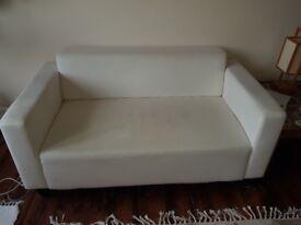 Two White ikea sofa going cheap!