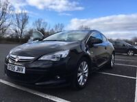 Vauxhall Astra GTC 1.4T SRI 65 plate. Low mileage! Previous lady owner!!