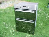stainless steel double oven .. 3 months warranty , fitting available