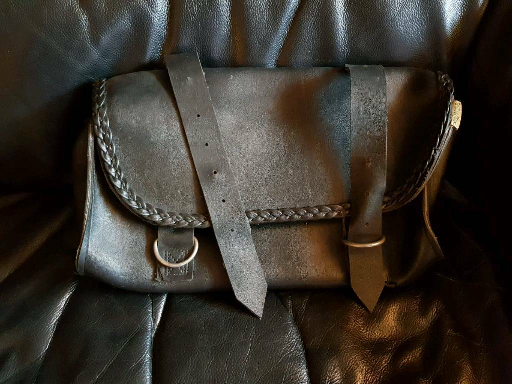 leather motorcycle panniers