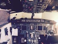 737 simulator