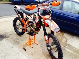 Ktm 250sxf road registered