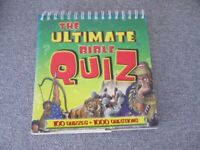 The Ultimate Bible Quiz Book. Colour illustrated.