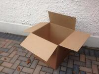 Cardboard boxes for removal - free to uplift