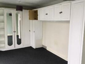 Built in wardrobe free to collect
