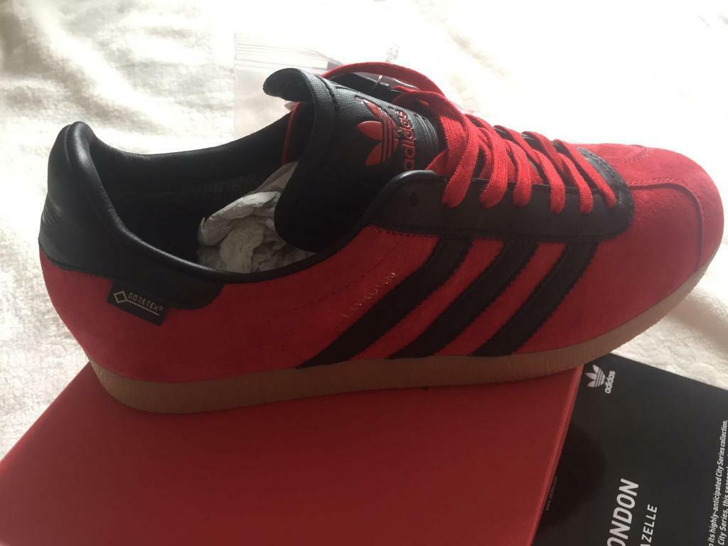 Adidas London GTX Gazelle ltd Ed 1 1500 size 9 gore tex trainers originals  City 4dd01f0ded88