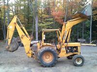 pepine backhoe loader john deere jd302ad
