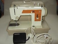 Frister and Rossmann straight stitch and zig [Model 45 Mark II], SUPERB CLEAN A1 CONDITION. £45.00.