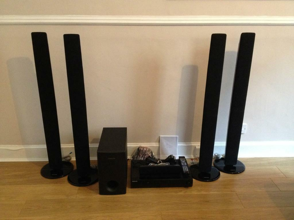5 1 samsung ht tz325 home theatre surround sound system. Black Bedroom Furniture Sets. Home Design Ideas