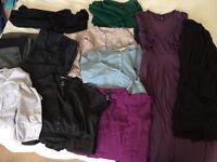 Maternity smart clothes bundle size 10/12