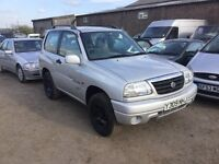 4x4 Suzuki Grand Vitara gv1600 4x4 in lovely condition in and out lovely cloth unmarked seats we px