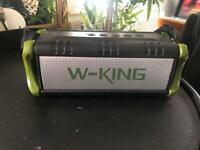 W-King (50W) Bluetooth, waterproof, mportable speaker