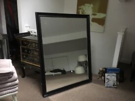 Large black mirror for sale collection only 48inchX36 inch