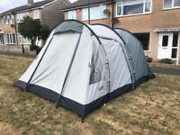 Vango icarus 500 5 man tent complete with footprint