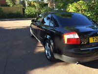 Audi A4 3.0 V6 Quattro 87000 miles. All four fairly new tyres and new spare.
