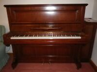 Schiedmayer & Soehne upright piano in excellent condition.