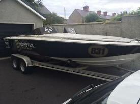 Chase marine 22ft powerboat