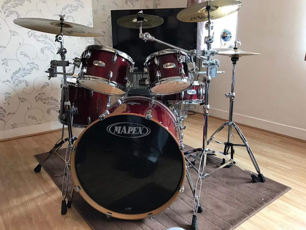mapex vxb 6 piece rock fusion drum kit for sale in sheffield south yorkshire gumtree. Black Bedroom Furniture Sets. Home Design Ideas