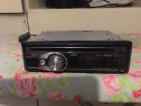 jvc cd player with aux/usb