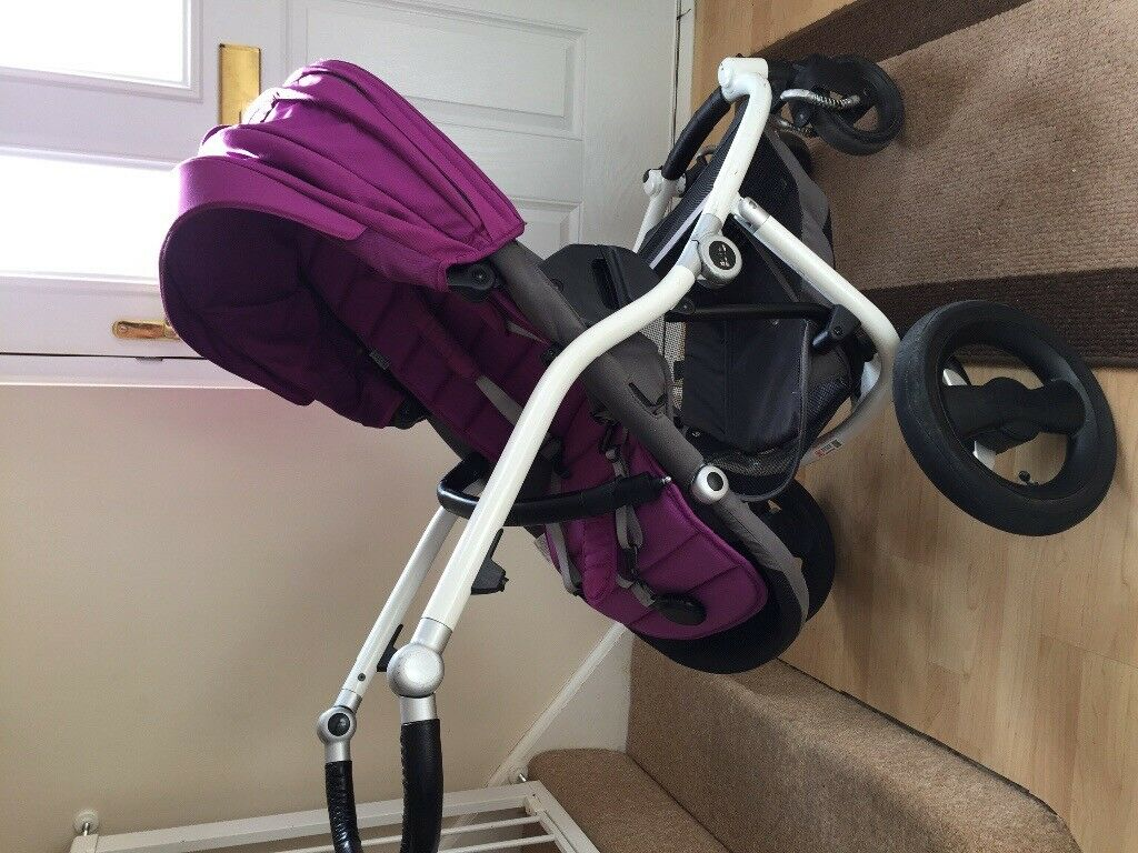Britax affinity 3 in 1 with car seat