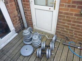 Weights bench&weights