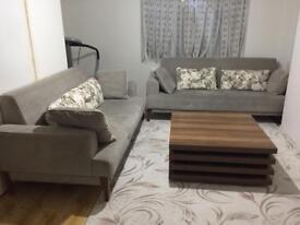 Sofa and cofe table